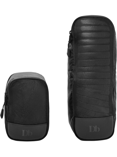 Douchebags Pack Bags - Equipaje - S/M 2-Pack negro